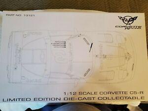 1/12 GMP CORVETTE CR-R 2001 - 24 HOURS OF DAYTONA - EARNHARDT #3
