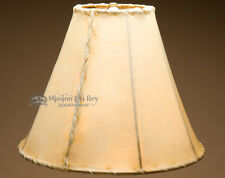 """Rawhide Lamp Shades for Western Lamps (14"""" bell)"""
