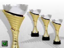 3er Pokalserie ATLANTA mit Gravur Pokale günstig kaufen gold silber TOP DESIGN