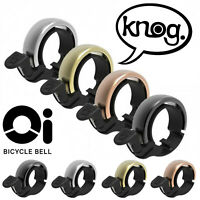 Knog Oi! Classic Bicycle Bell - Large Or Small - Choice Of 4 Colours