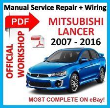Servicio De Reparación Manual De Taller Oficial # Para Mitsubishi Lancer VIII 8 2007-2016