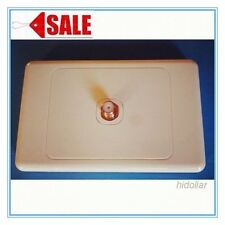 TV OUTLET ANTENNA COAXIAL WALL SOCKET PLATE F TYPE FOXTEL TELSTRA CABLE INTERNET