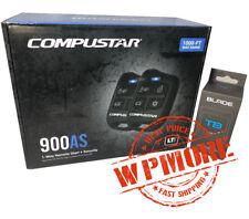 Compustar CS900-AS Alarm & Remote Start + BLADE-TB Bypass Module Bundle 700 700R
