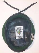 Béret Vert avec insigne TAP PARA 2°REP LÉGION ÉTRANGÈRE Taille/Size XXL / TT 61