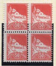 Algeria 1927 Early Issue Fine Mint Hinged 50c. Block 027784