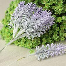 Bouquet Fake Lavender Artificial Plants Home Decoration Plastic Flowers KNJn