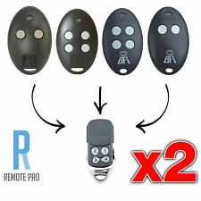 2 x BFT Mitto 2M 4M 12V Compatible Garage/Gate Remote D111751 D111750