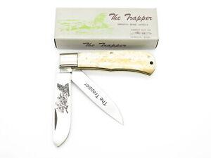 Vtg Parker Cut Co. Seizo Imai Seki Japan Wildlife Folding Trapper Pocket Knife