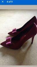 Patternless Satin Narrow (2A) Heels for Women