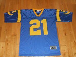 Vintage 1996 Starter Lawrence Phillips LOS ANGELES RAMS Mens NFL Team JERSEY 46