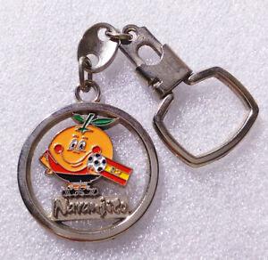 RARE Vintage Keychain ✱ SPAIN 82 FOOTBALL FIFA WORLD CUP ✱ Porte-Clés Soccer #4