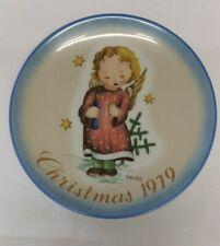 "Berta Hummel Decorative Plate; #9 in Series;1979, ""Starlight Angel,"" Limited Ed"
