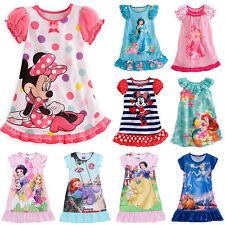 bambine Bimbi vestiti Principessa Minnie Pigiama Biancheria da notte pigiameria