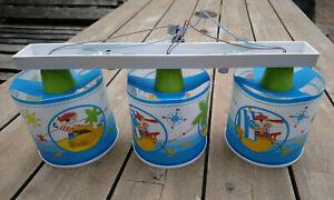Piraten Deckenlampe für Kinderzimmer 3x E27 Sockel, max. 60W, ohne Leuchtmittel