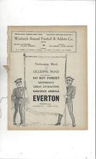 Woolwich Arsenal v Croydon Common 1913/14 + Middlesex v Essex Double Programme
