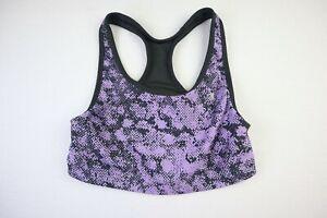 Champion Women's Size Medium Purple Sports Bra