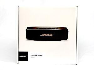 BOSE SoundLink Mini II Bluetooth Wireless Speaker - Black Copper Ltd Ed NEW