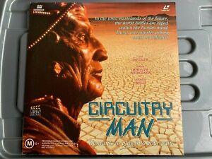 CIRCUITRY MAN LASER DISC, LD, CULT HORROR, SCI FI