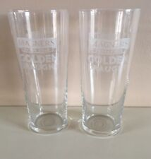 NEW 2 X  MAGNERS CIDER GOLDEN DRAUGHT PINT GLASSES