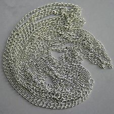 [PF] 1.5mm Silver Metal Chain BJD Dollfie Jewelry Necklace Bracelet Diy Crafts