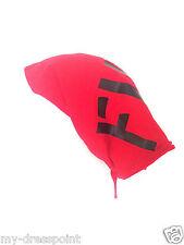 DIESEL Sqarfer Foulard Women's Hat Women's Cap Cap Red Black One Size NEW