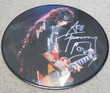 ACE FREHLEY KISS authentic signed picture discs album GREATEST HITS LIVE