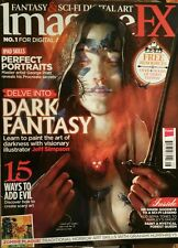 ImagineFX UK Perfect Portraits Dark Fantasy August 2014 FREE PRIORITY SHIPPING