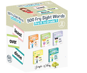 Simple Willow 500 Flashcard Set