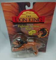 The Lion King Fighting Action Figure Scar Disney Vintage MATTEL 1994 Rare