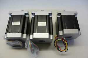 WT86STH118-6004A Srittmotor Wantai Stepper Motor Nema 34 WT86STH80-5604A 3 Stück