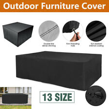 Waterproof Garden Patio Furniture Cover Outdoor Rattan Table Cube Sun Protection
