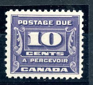 Weeda Canada J14 F/VF MNH 10c dark violet 1933 Postage Due issue CV $65