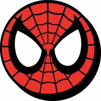 Marvel The Amazing Spider-Man Mask / Face Image Chunky 3-D Die-Cut Magnet, NEW