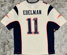 New England Patriots Julian Edelman Signed Nike Super Bowl Jersey - Beckett BAS