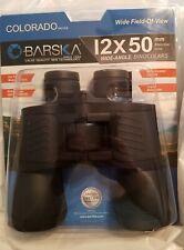 Binoculars Barska 12x50mm Colorado Series Wide Angle Binoculars Case Neck Strap