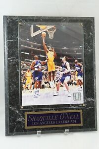 """Shaquille O'Neal Authentic Licensed NBA Photograph Plaque #34 Lakers Jazz 12x15"""""""