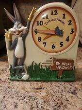 Vintage 1974 Warner Brothers Janex Bugs Bunny Talking Alarm Clock Not Working