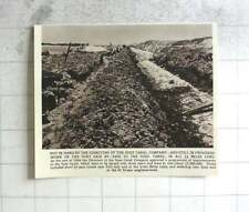 1956 Work On The Port Said Bypass To Suez Canal Underway
