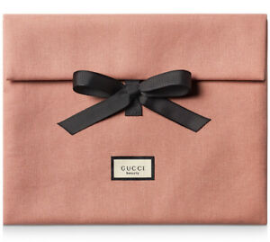 GUCCI Beauty large Pink Cosmetic/Make-up/Toiletry Bag/Pouch - New