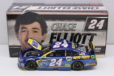 CHASE ELLIOTT #24 2017 NAPA DUEL RACED WIN 1/24 SCALE NEW IN STOCK FREE SHIPPING
