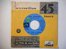 45t SIXTIES PORT 0€ ▓ LUIS MARIANO : ÇA C'EST L'AMOUR / LE MARI MODELE