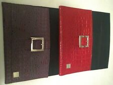 2 Miche bag covers only. 1 red w/faux croc & 1 brown/faux aligator. Both in VGC
