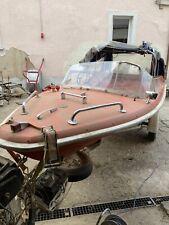 Motorboot Vega Oldtimer Restaurierungsbedürftig