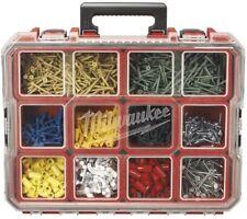 Nut And Bolt Organizer Small Parts Case Compartments Garage Jobsite Storage Box