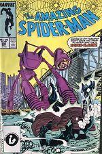 The Amazing Spider-Man #292 VF September 1987 Spider Slayer Black Costume