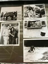 ISABEL SARLI - 5 Original Movie Photos TROPICAL ECSTASY Argentine Sexploit 1970