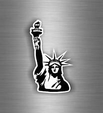 Sticker adesivi adesivo murali auto moto new york statua della liberta usa r1