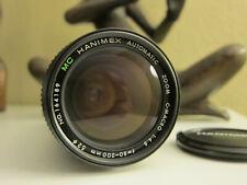 Hanimex Macro Auto Zoom lens for Nikon, 80-200mm 1:4.5