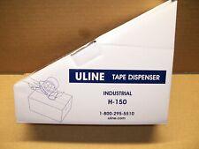 Uline H 150 Industrial Side Loader Tape Dispenser Gun Hand Held Packaging 2 New