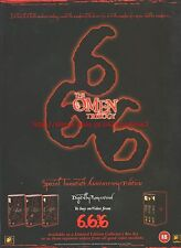 The Omen Trilogy Special Edition 1996 Magazine Advert #7475